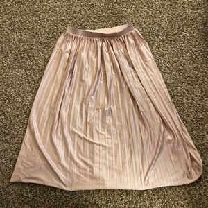 Topshop pleated midi skirt size 6 medium